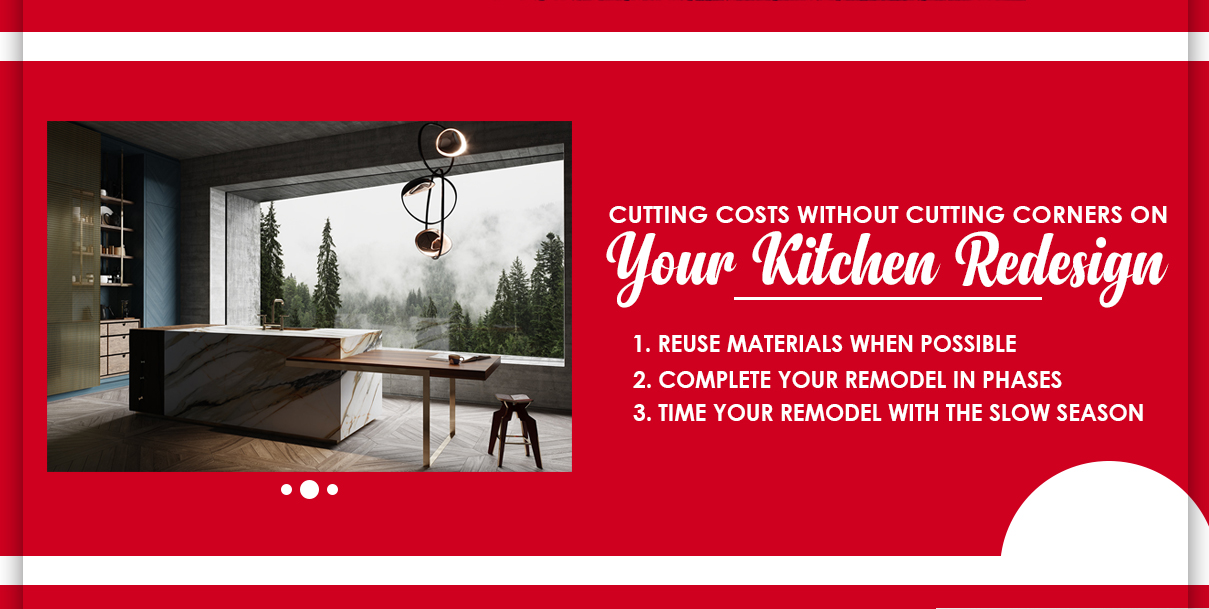 Cutting Costs in a Kitchen Redesign Without Cutting Corners