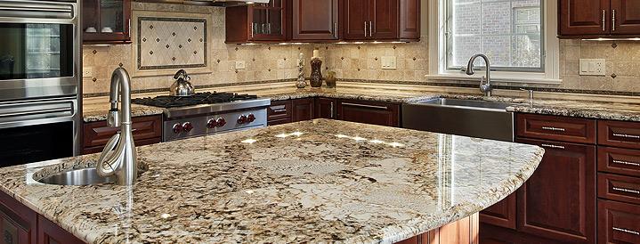 granite countertops at Swartz Kitchens and Baths