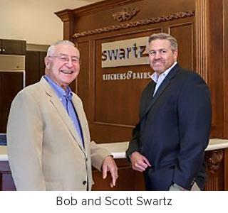 Bob Swartz and Scott Swartz of Swartz Kitchens & Baths