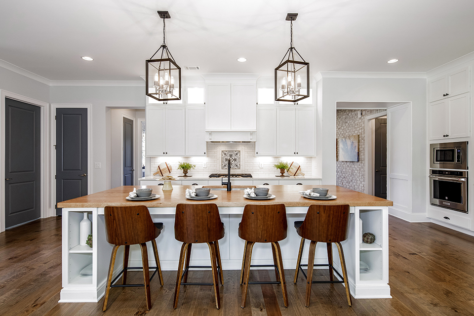kitchen renovation with Woodmont Cabinetry