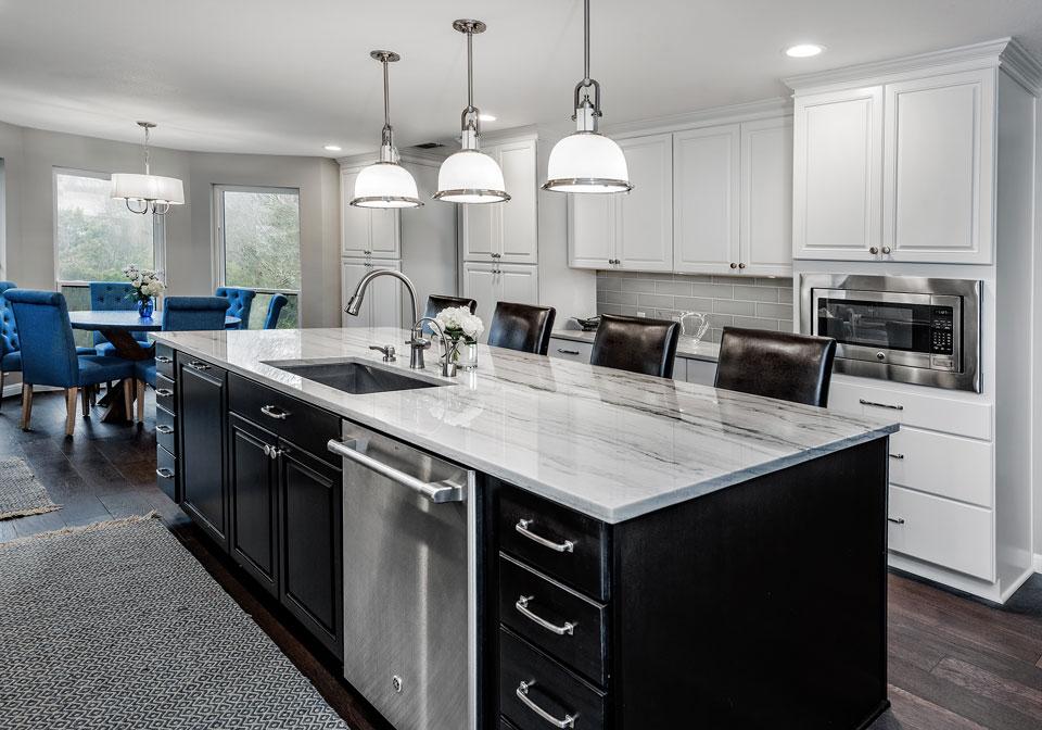 kitchen design style transitional