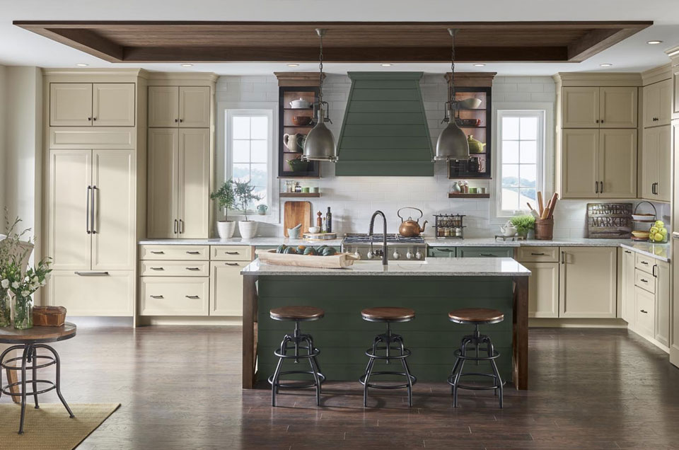 Dream kitchen vent-hood
