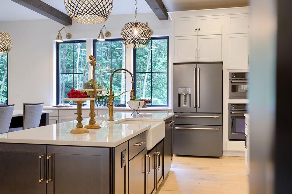 Swartz kitchen with granite countertops