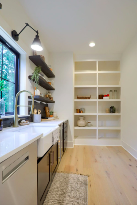 Swartz Kitchen with a scullery