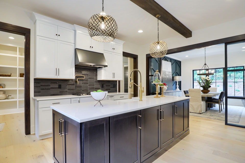 Swartz Kitchen from Parade of Homes